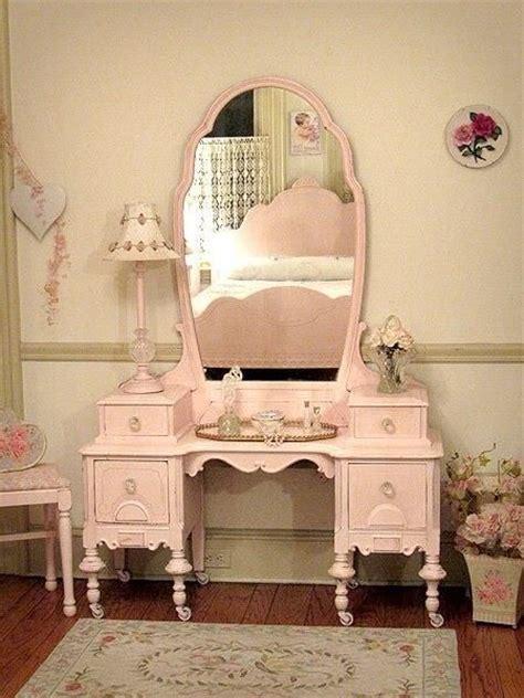 furnishings sweet pastel vanity a little more shabby
