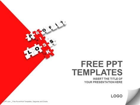 download free risk management jigsaw puzzle ppt template