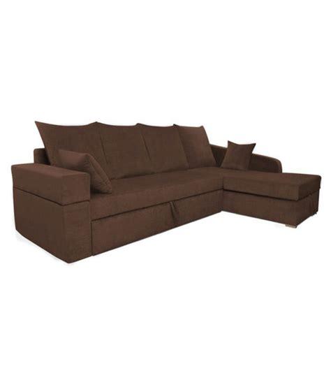 l shaped sofa india adorn india comfort line fabric l shaped sofa l shaped