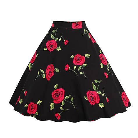 50s swing skirt women s circle jive vintage retro 50s 60s rockabilly swing