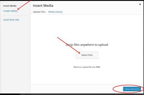 cara membuat video tulisan dan gambar cara membuat postingan di wordpress dan upload gambar