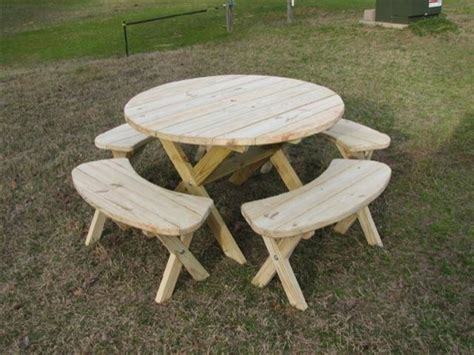round wooden picnic bench woodworking tools lie nielsen how to build a round picnic