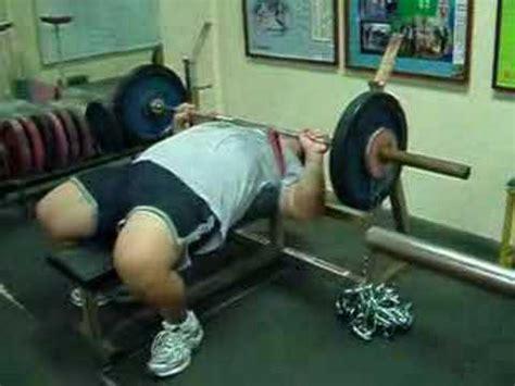 dynamic effort bench dynamic effort day with 140kg bench press youtube