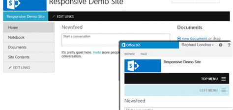 sharepoint responsive template choice image templates