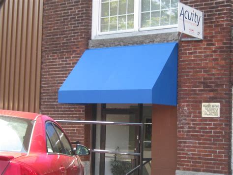 commercial door awnings window door awning gallery l f pease company