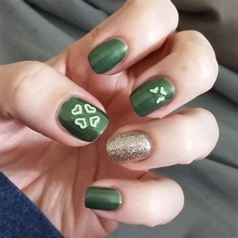 easy nail art green simple green nail art nail art ideas