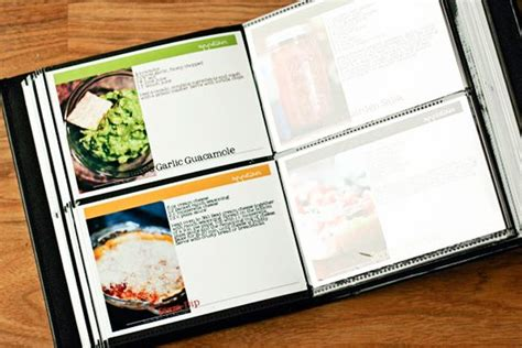 template for recipe book make your own recipe book with your own pictures
