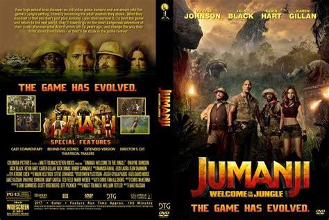 film jumanji en arabe jumanji welcome to the jungle 2017 dvd custom cover