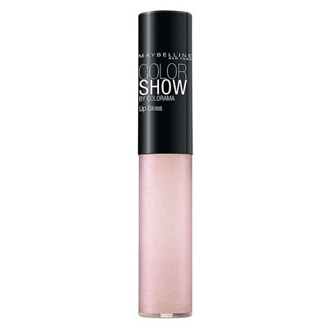 Lipgloss Maybelline maybelline maybelline colorshow by colorama lipgloss review bulletin lipgloss