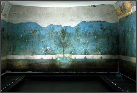 giardino di livia roma villa di livia il giardino dipinto