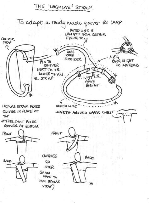 pattern for making a quiver quiver leather and patterns on pinterest
