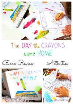 libro the day the crayons the day the crayons came home pdf activities book review