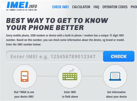 Phone Lookup Lookup Phone Details Using An Imei Number Best Free