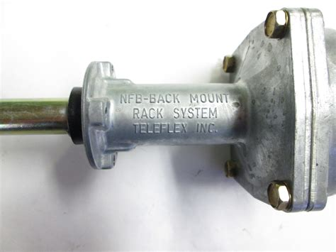 boat rack and pinion steering teleflex rack pinion boat steering cable back mount nfb