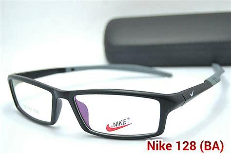 Frame Kacamata Lensa Minus Baca Antiradiasi Pria Wanita Korea Kotak 30 jual frame kacamata nike 128 pria wanita lensa baca minus eyeglasses mang jajang store