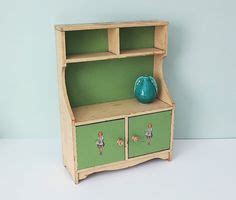 vintage child s play kitchen cupboard hutch wood step 1000 images about antique children s wooden hutch on