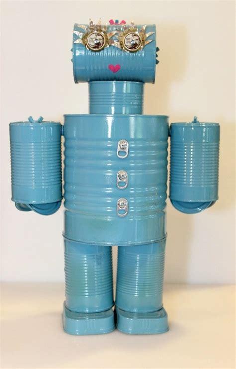 tin can robot a tin can robot thriftyfun