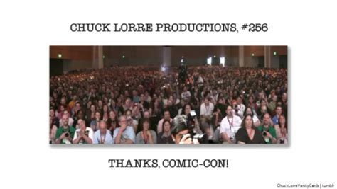 Chuck Lorre Vanity Card 255 by Chuck Lorre Productions