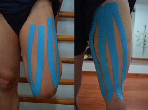 contrattura interno coscia kinesio taping o cerotti al ginocchio spalla caviglia