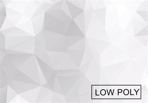 Silver Light Grey light grey low poly background vector free