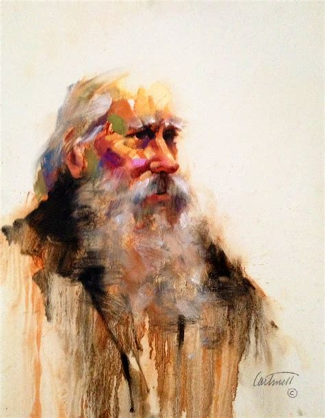 paint man old man character study painting