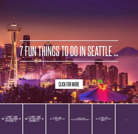 7 Interesting Things To Do In A Traffic Jam by 7 Things To Do In Seattle Lifestyle