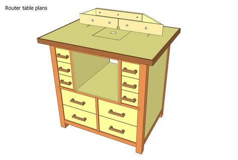 Wood Router Table Plans
