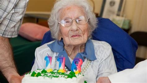 Cooper The Of The News World by Dina Manfredini Declared World S Oldest Living Person At