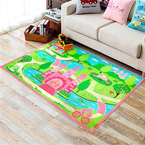 girls bedroom rugs huahoo pink girls bedroom rugs cartoon castle kids rug