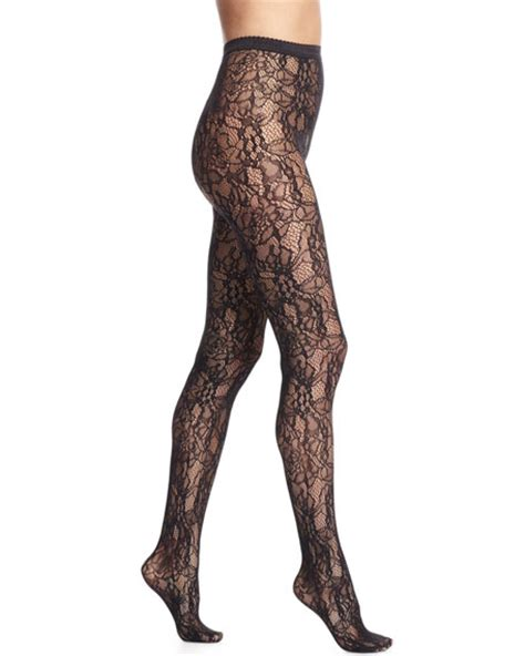 lace tights wolford clair elaborate lace tights black neiman