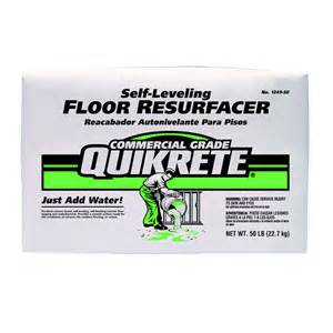 Leveling Bathroom Floor Shop Quikrete 50 Lb Gray High Strength Concrete Mix At