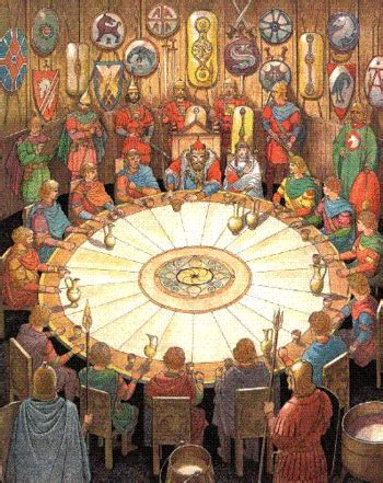 king arthur table king arthur myth tv tropes