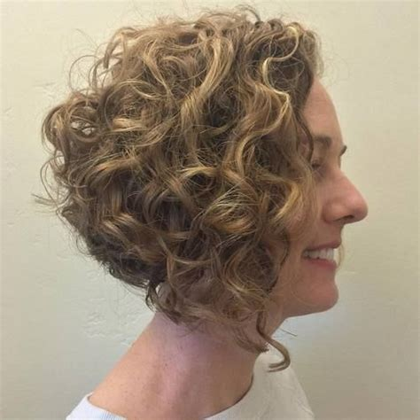 adding curl to an angle bob 20 hairstyles and haircuts for curly hair bobs girls