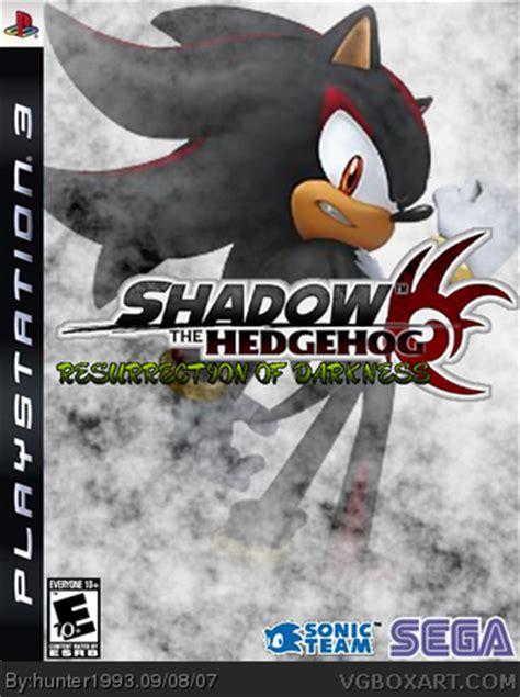 resurrection shadows of omega volume 1 books shadow the hedgehog resurrection of darkness playstation
