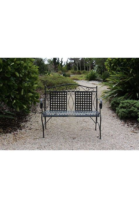 black metal garden bench black metal garden bench seat