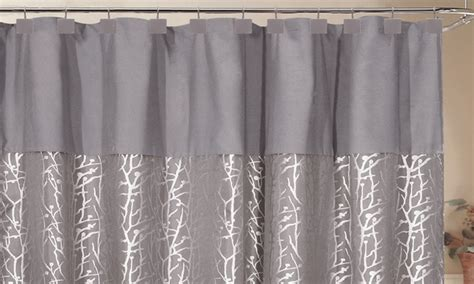 Jacquard Shower Curtain by 70 X72 Woven Jacquard Shower Curtain With Hooks Deal Of The Day Groupon