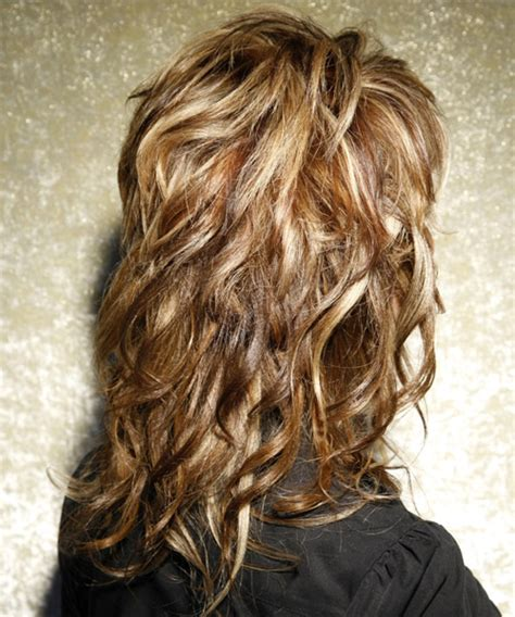 long shaggy hair for women front and back image long choppy layered haircuts back view google search