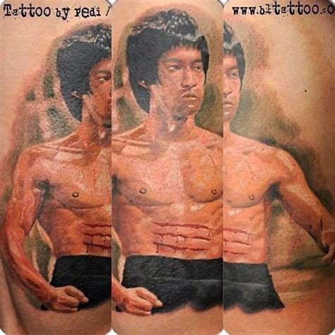 bruce lee tattoo bruce by igor pešić pedi artist owner