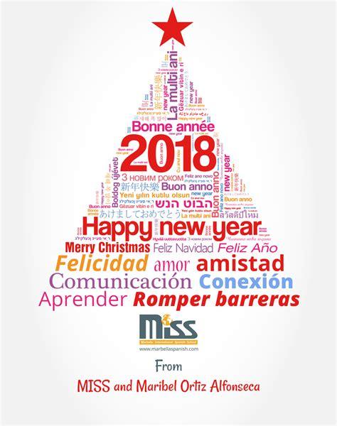 new year 2018 school merry happy new year 2018 marbella