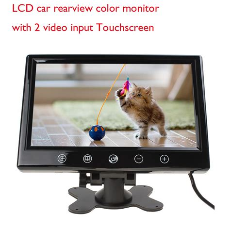Geisler Touchscreen Monitor Lcd eincar 9 inch best tft car monitor with rear view
