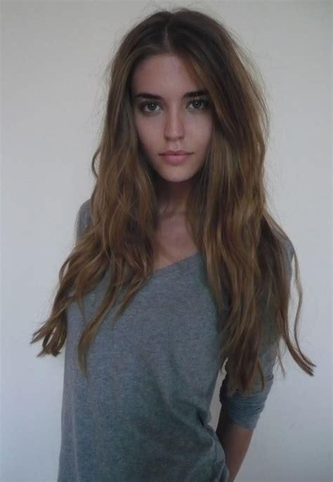 gorgeous hair beautiful brunette eyes fashion girl gorgeous image