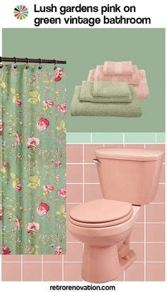 pink green bathroom 12 ideas to decorate a pink and gray vintage bathroom
