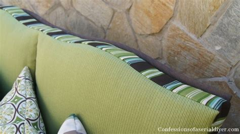 easy couch cushion covers sew easy outdoor cushion covers part 2 confessions of a