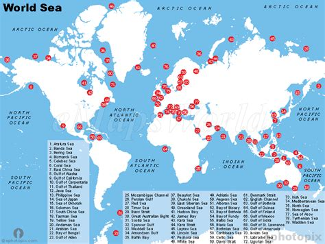 world map with lakes and seas seas of the world map h20