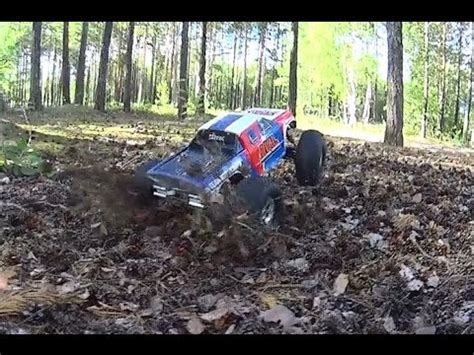 monster truck crash videos youtube rc car rival monster truck forest crash youtube