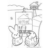 Peeps Coloring Pages  Educational Fun Kids