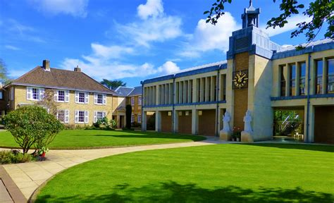 Outside Of House lee library wolfson college cambridge mihnea maftei