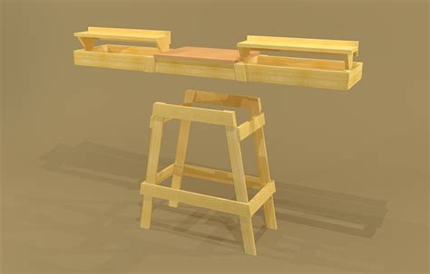 detail free plans for table saw stand