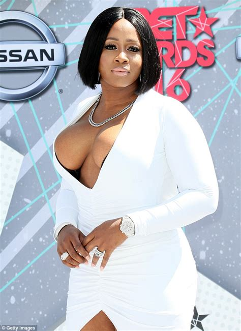 remy ma leaves little to the imagination in plunging white