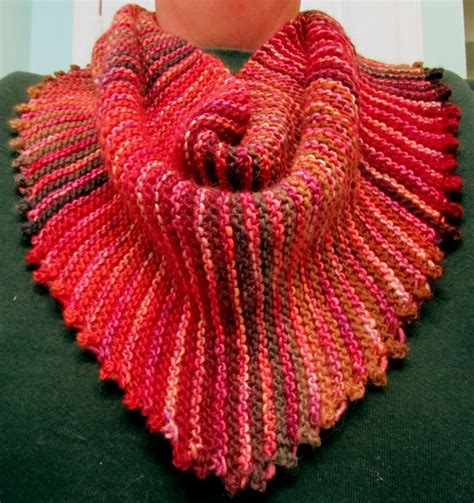 how to end a knitted scarf baktus scarf made by melody she tellshow to knit the